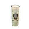 Natural Light Round Candle