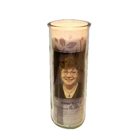 Treasure Round Candle