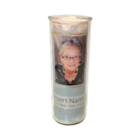 Watercolour Round Candle
