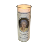 Christian Round Candle