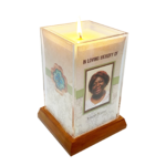 Natural Light Square Candle