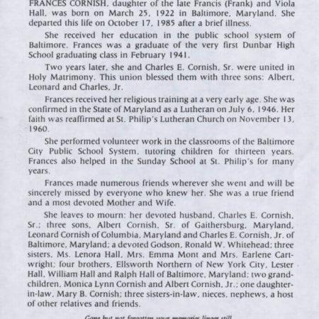 standard obituary