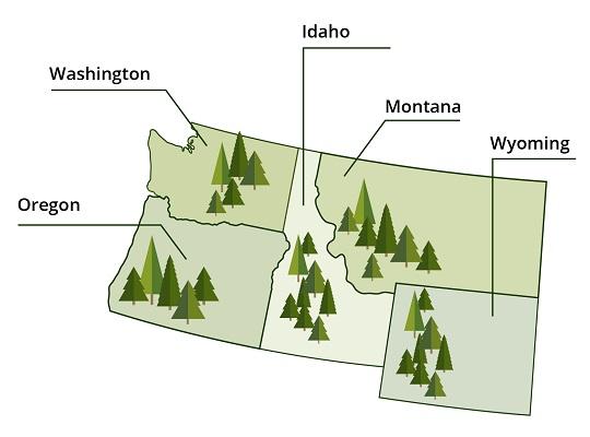 US Pacific Northwest
